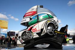 Helmet of Tom Kristensen, Audi Sport Team Abt Audi A4 DTM