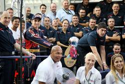 Scuderia Toro Rosso team photo, Franz Tost, Scuderia Toro Rosso, Team Principal, Sebastien Buemi, Scuderia Toro Rosso