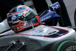 Роберт Кубица, шлем, BMW Sauber F1 Team