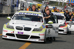 Augusto Farfus, BMW Team Germany, BMW 320si and Jorg Muller, BMW Team Germany, BMW 320si