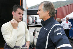 Dirk Muller and Charly Lamm, Team Manager, BMW Team Germany / Schnitzer Motorsport