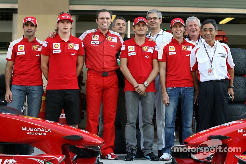 Marc Gene, Test Driver, Scuderia Ferrari, Kimi Raikkonen, Scuderia