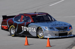 Trevor Bayne takes the No. 99 Toyota Camry out on the track