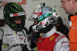 Group A, race 1: Jenson Button and Tom Kristensen