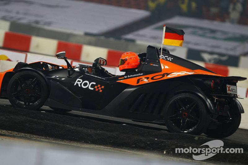 Final, race 2: Michael Schumacher