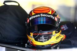 Helmet of Fabian Coulthard