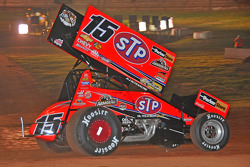 Donny Schatz, three-time World of Outlaws Sprint Car Series champion and current point leader, drove a specially schemed commemorative car with the colors and logos of Mario Andretti's 1969 Indianapolis winning STP machine
