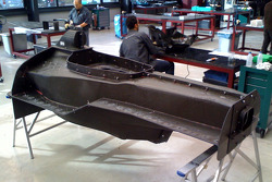 Lotus F1 Racing chassis in development