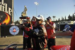 NHRA Pro Stock Motorcycle 2009 champion Hector Arana