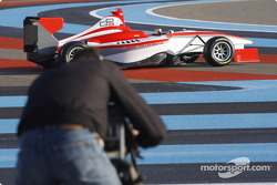 The new GP3 Series car on show