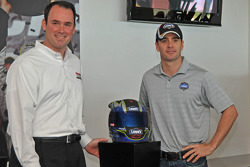 Jimmie Johnson, Hendrick Motorsports Chevrolet introduced by Hendrick Motorsport executive vice president Marshall Carlson in the Homestead-Miami Speedway inaugural edition of the Hall of Champions