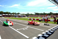 Second race: Felipe Massa wins in front of Michael Schumacher