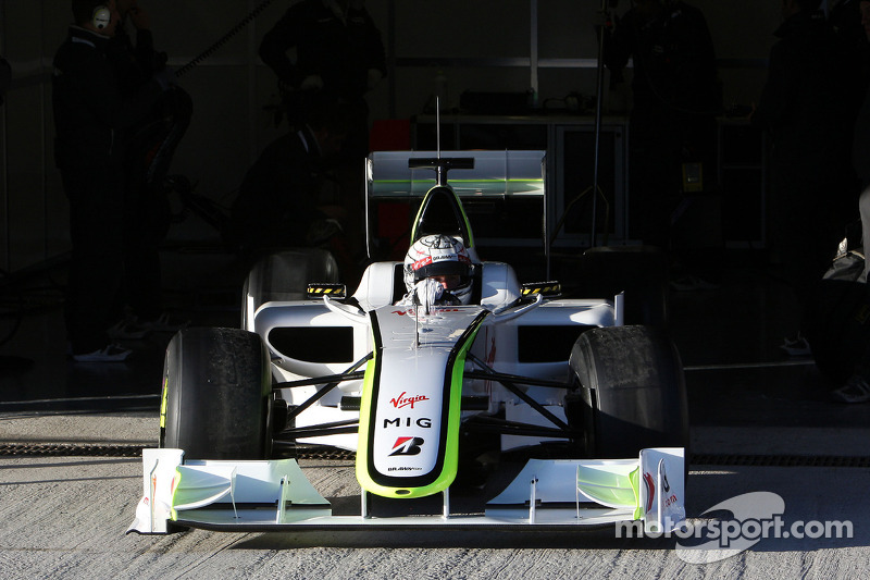 Mike Conway, Tests for Mercedes Grand Prix
