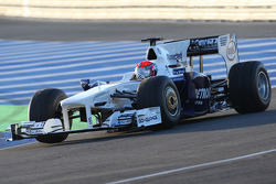 Alexander Rossi, Tests for BMW Sauber team