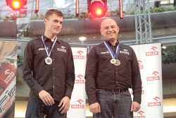 Orlen Team presentation: Jakub Przygonski and Jacek Czachor on stage