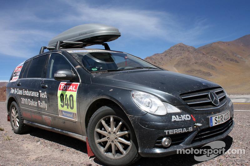 #940 Mercedes-Benz R-Class, voiture des journalistes