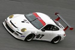 #67 TRG/ Flying Lizards Porsche GT3: Jorg Bergmeister, Patrick Long, Seth Neiman, Johannes van Overbeek