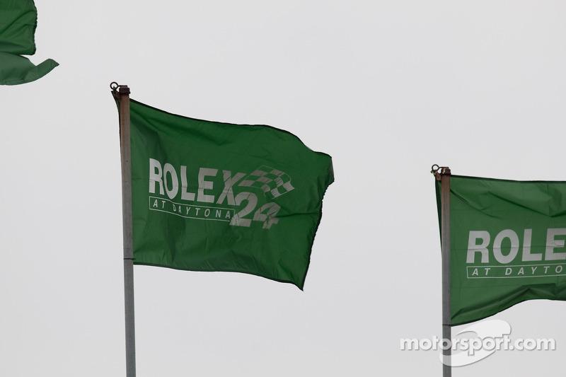 Les drapeaux du Rolex 24