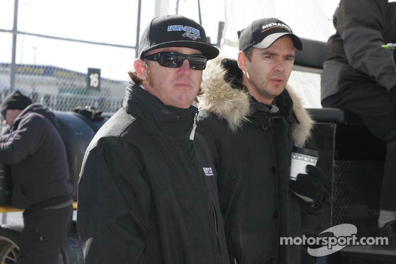 Buddy Rice et Darren Manning