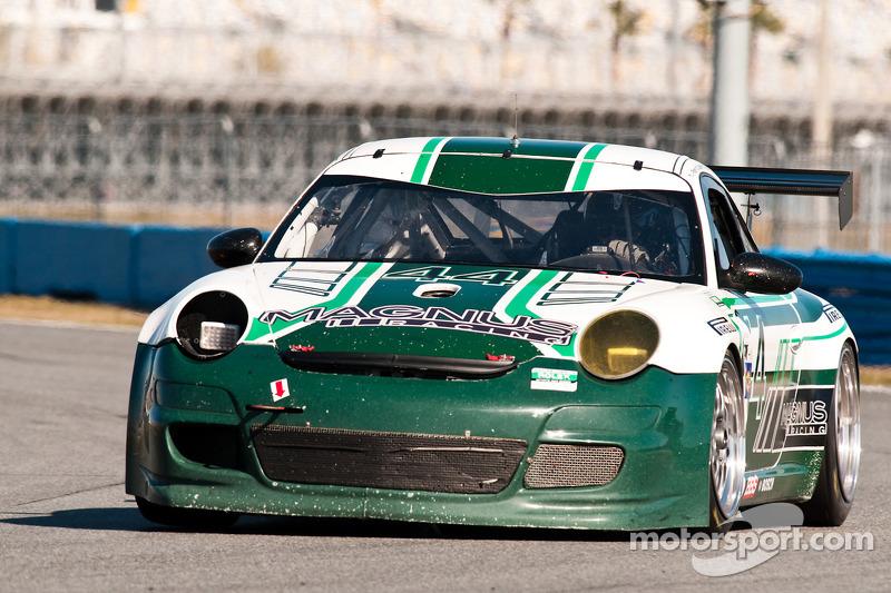 #44 Magnus Racing Porsche GT3: Jeroen Bleekemolen, John Potter, Craig Stanton