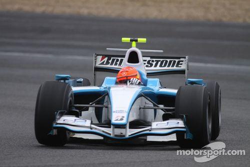 Jerez Michael Schumacher test