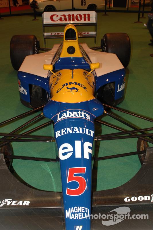 Nigel Mansell's F1 1992 Williams