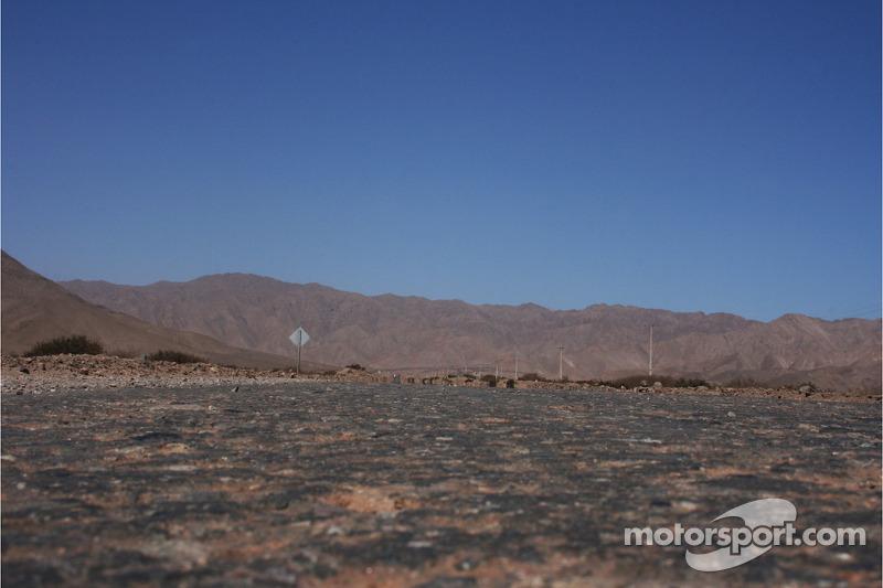 Paysage entre Antofagasta et Copiapo
