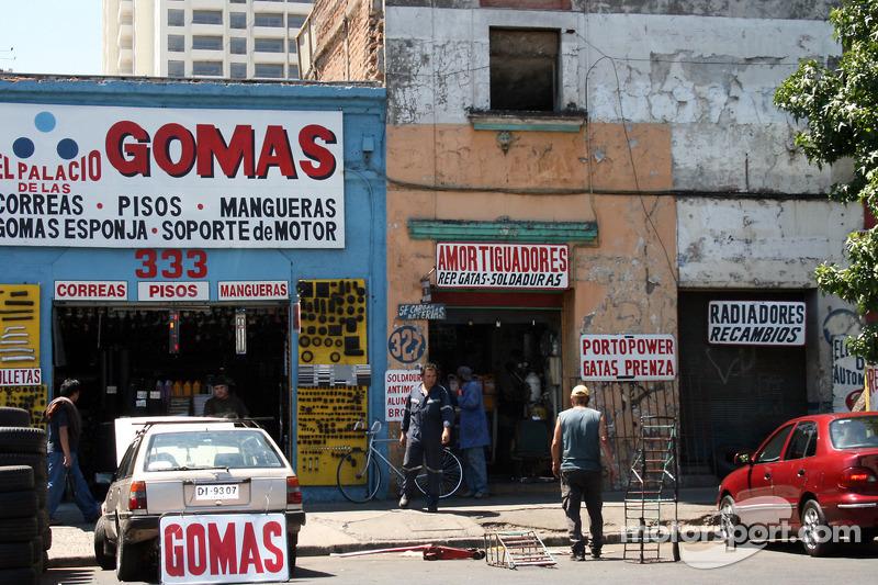 Paysage à proximité de Santiago