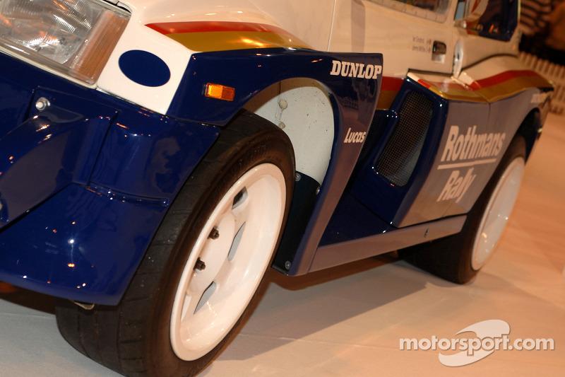MG Metro 6R4 de Jimmy McRae (Détail)