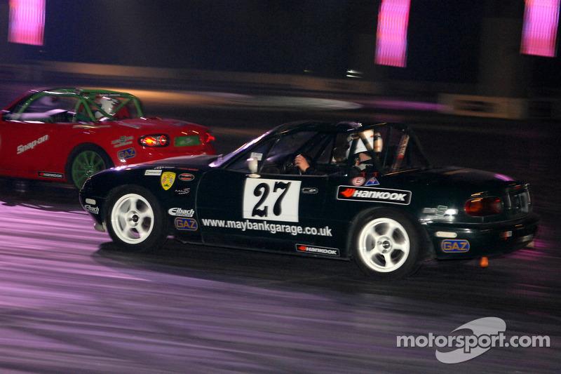 Mazda MX5 Racing dans la Live Action Arena