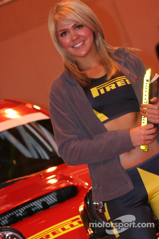 Une top model Pirelli