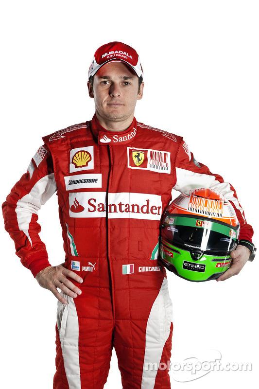 Giancarlo Fisichella, Testfahrer, Ferrari