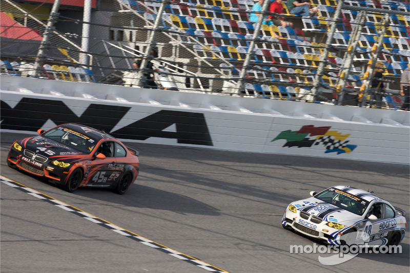 #45 Fall-Line Motorsports BMW M3 Coupe: Terry Borcheller, Andrew Hendricks et #48 Fall-Line Motorspo