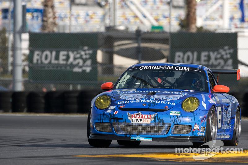#18 TRG/ Guardian Angel Porsche GT3: Bob Doyle, Bruce Ledoux, David Quinlan, Tom Sheehan, Dan Watkins