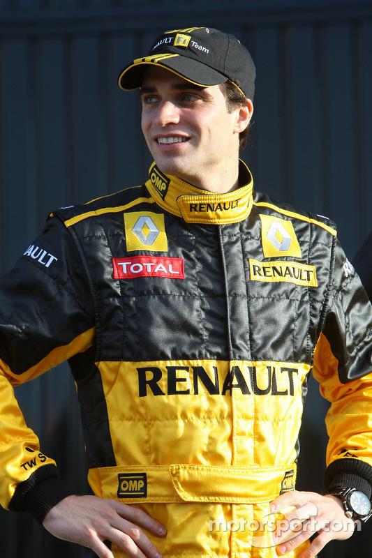 Jerome D'Ambrosio, Testfahrer, Renault F1 Team