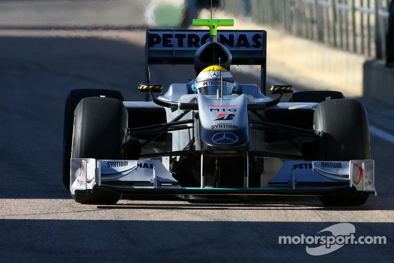 Ніко Росберг, Mercedes W01