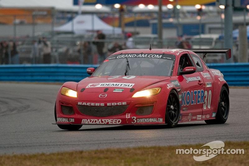 #30 Racers Edge Motorsports Mazda RX-8: Glenn Bocchino, Jade Buford, Todd Lamb, Jordan Taylor