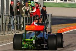 Lewis Hamilton, McLaren Mercedes, MP4-25, with aero paint