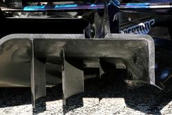Scuderia Toro Rosso diffusor detail