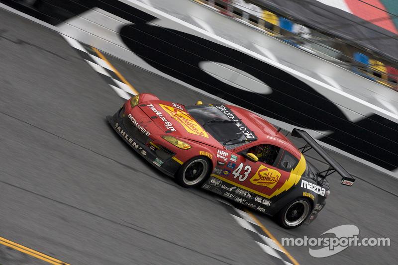 #43 Team Sahlen Mazda RX-8: Joe Nonnamaker, Wayne Nonnamaker, Will Nonnamaker, Joe Sahlen