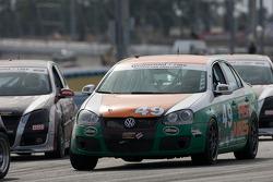 #49 Irish Mike's Racing Volkswagen Jetta: Andrew Novich, Reny Pobst