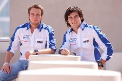 Giedo Van der Garde et Sergio Perez