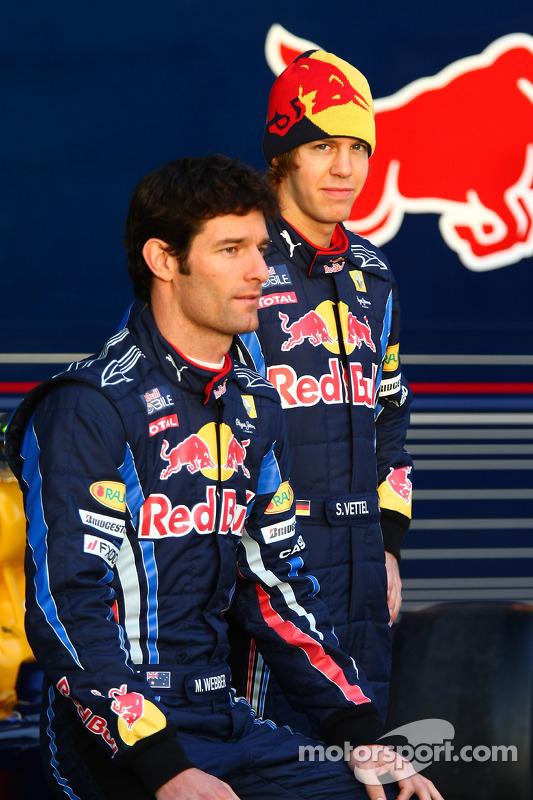 Mark Webber et Sebastian Vettel (Red Bull Racing)