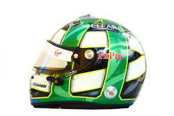 Lucas di Grassi, Virgin Racing helmet