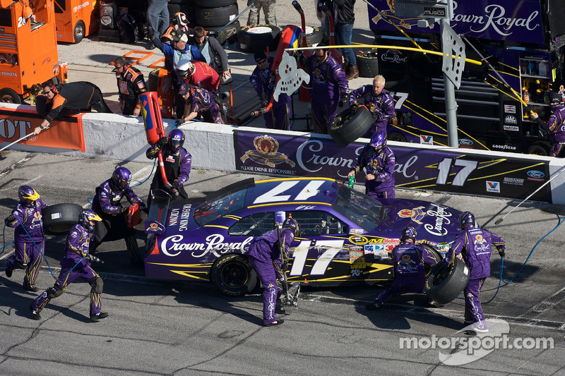 Arrêt aux stands Matt Kenseth, Roush Fenway Racing Ford
