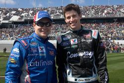 Ricky Stenhouse Jr. y Colin Braun
