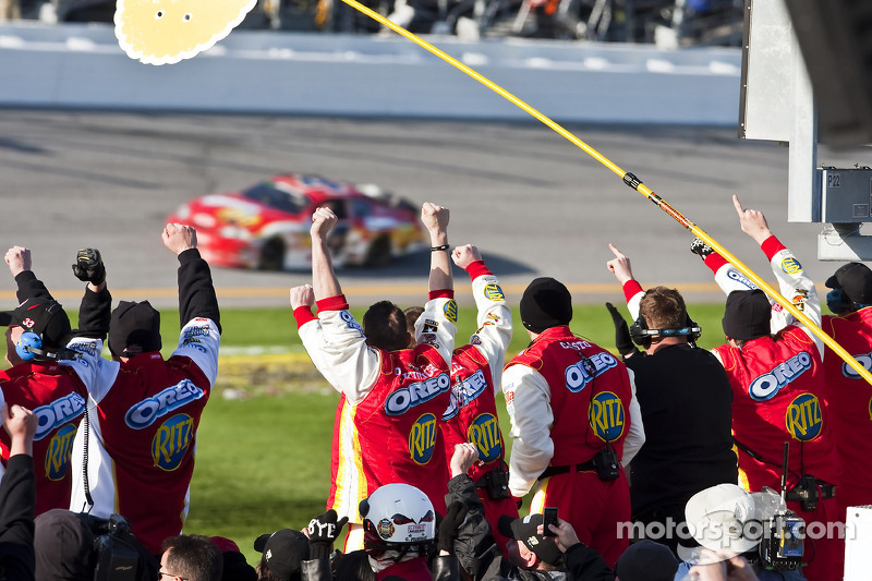 Race winnaar Tony Stewart