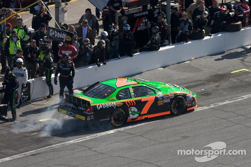 Estreia de Danica na NASCAR Xfinity Series em Daytona, em 2010