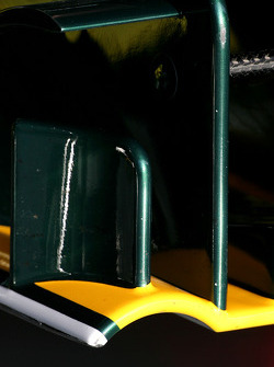 Lotus F1 Team, front wing detail- Formula 1 Testing, Barcelona