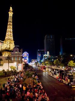 Haulers-Parade auf dem Las Vegas Strip